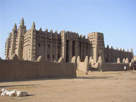 Mosquée Djenné2