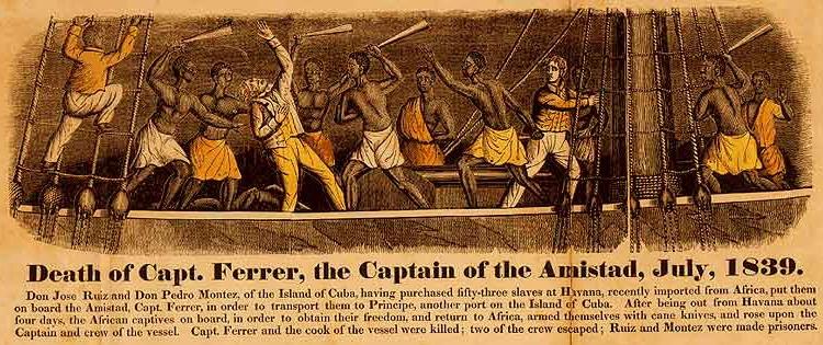 Photographie - Révolte à bord de l'Amistad 1839
