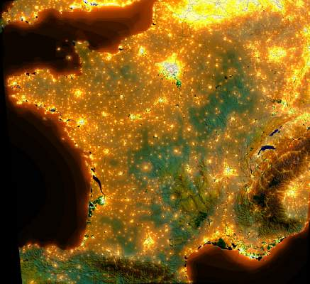 Photographie - pollution lumineuse