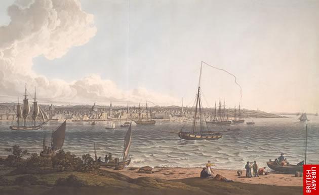 Photographie - Port de Liverpool