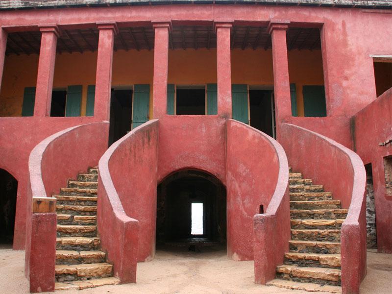 Photographie - maison des esclaves de Gorée