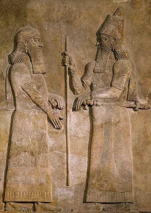 Photographie - Roi Sargon II