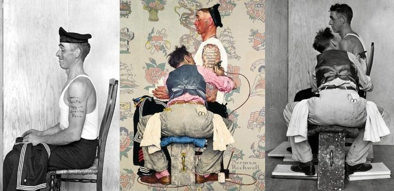 Photographie - Norman Rockwell tableau + photo 2
