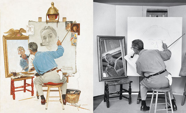 Photographie - Norman Rockwell tableau + photo 3