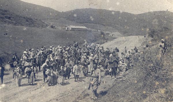 Photographie - génocide arménien déportation