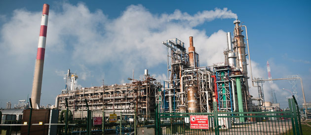 Photographie - Raffinerie Le Havre