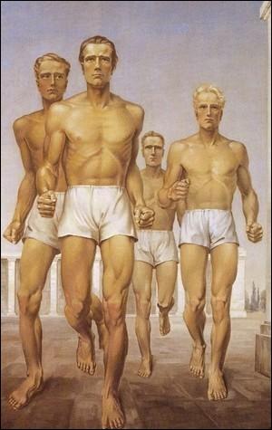 Photgoraphie - Gymnastes Gerhard Keil 1939