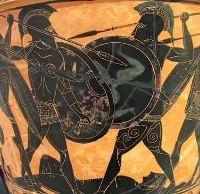 Cérmaique - Hoplites au combat