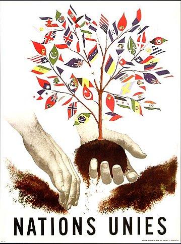 Affiche - ONU 1945