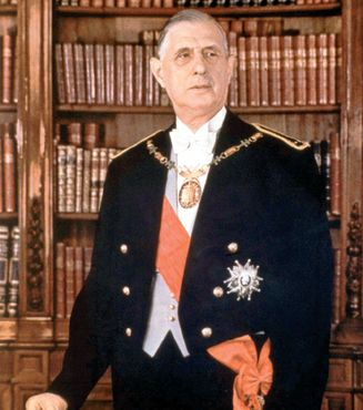 Portrait - Président De Gaulle