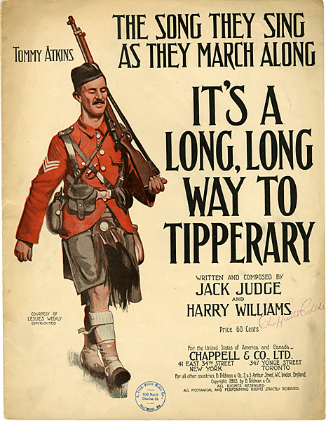 Poster - it's a long way to Tipperary