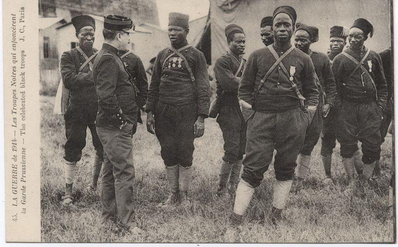 Portrait - soldat africain