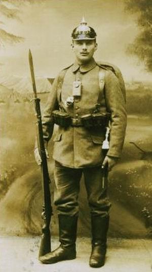 Photographie - Soldat allemand2