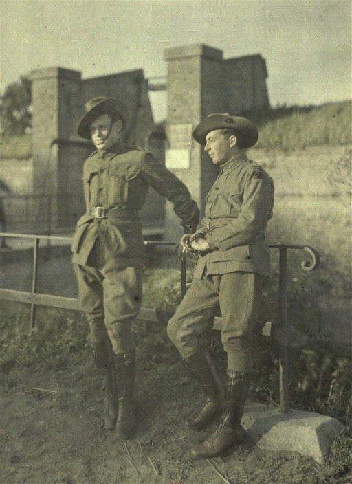 Photographie - Soldats australiens3