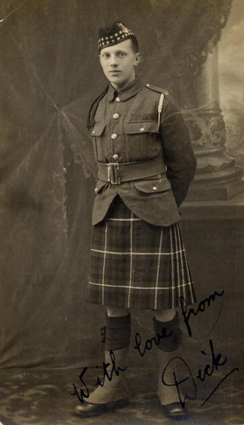 Portrait - soldat écossais