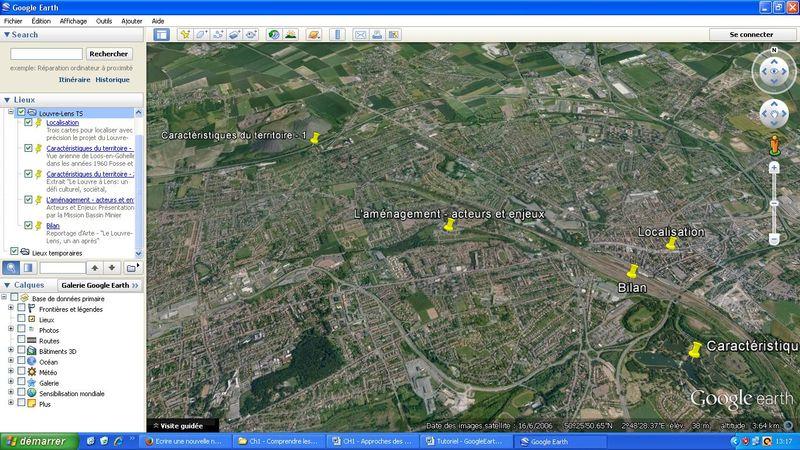 Photographie - Ecran Google Earth