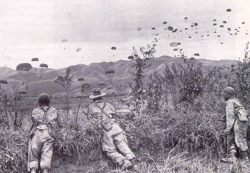 Photographie de la guerre d'Indochine