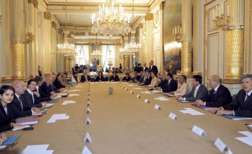 Photographie - conseil des ministres