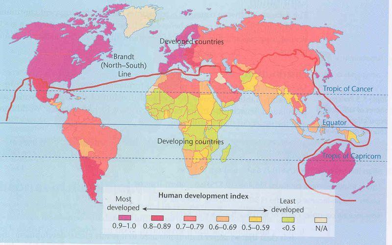 Map - HDI