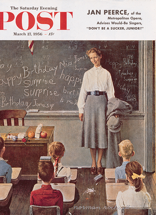 Picture - Norman Rockwell surprise