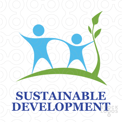 Logo - Sustainable development