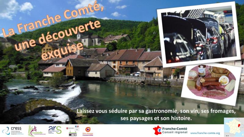 Affiche Franche-Comté