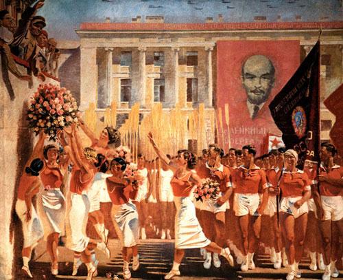 Peinture - Réalisme socialiste2