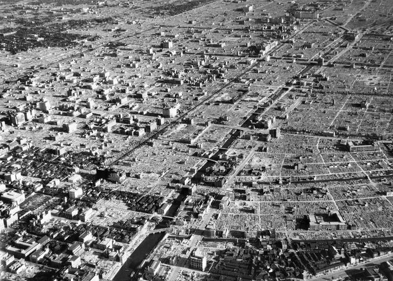 Tokyo-1945-after-us-air-force