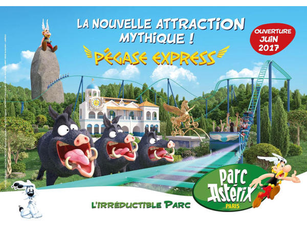 Photo - parc astérix
