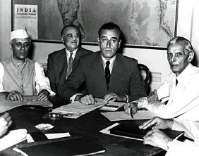 Photographie - Négociations indépendances 1947