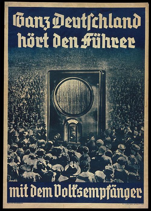 Affiche - Publicité pour un modèle de radio 1938
