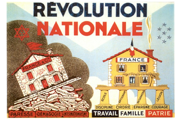 Affiche - Révolution nationale