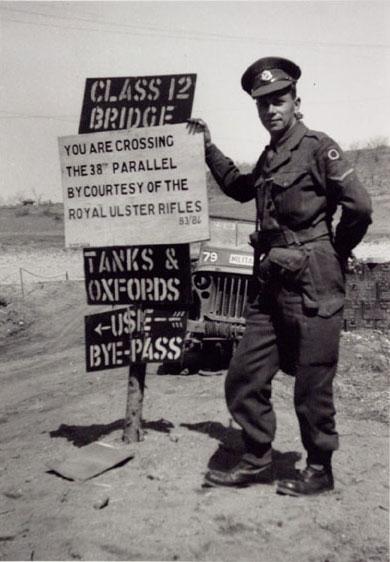 Photographie - Division de la Corée 38e parallèle