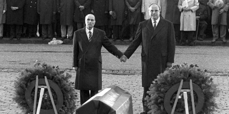 Commémoration commune Verdun 1984