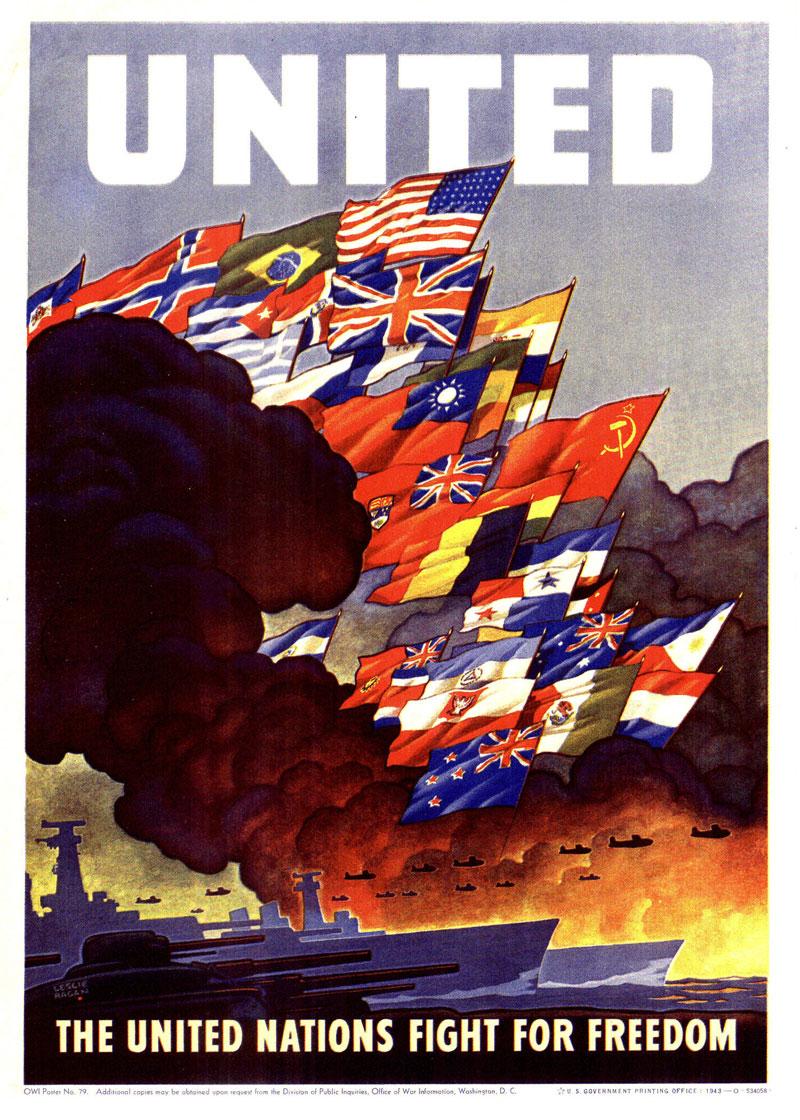 Affiche - guerre mondiale