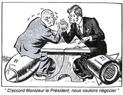 Caricature - Crise de Cuba