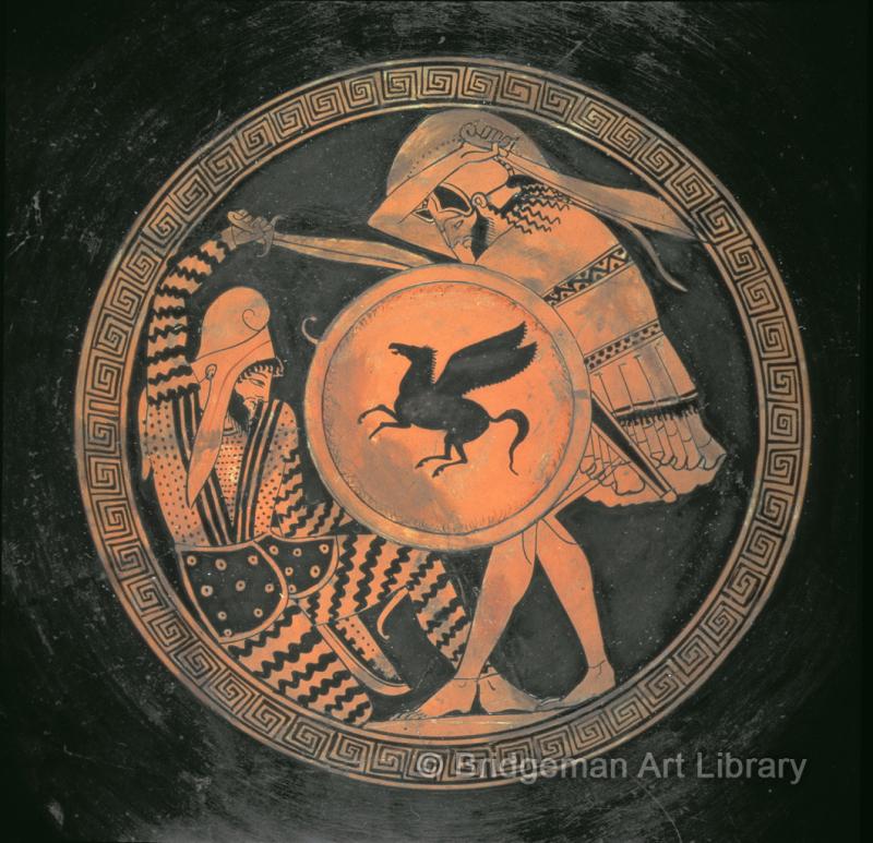Céramique - Hoplite versus Perse