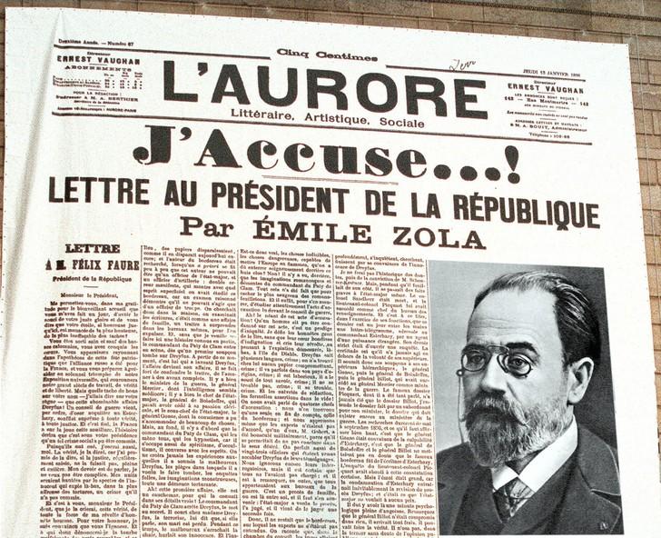 13-janvier-1898-Emile-Zola-sortait-reserve-laffaire-Dreyfus-signant-Jaccuse-L-Aurore_0_728_592