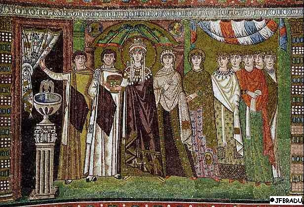 Eglise Saint-Vital de Ravenne Justinien2