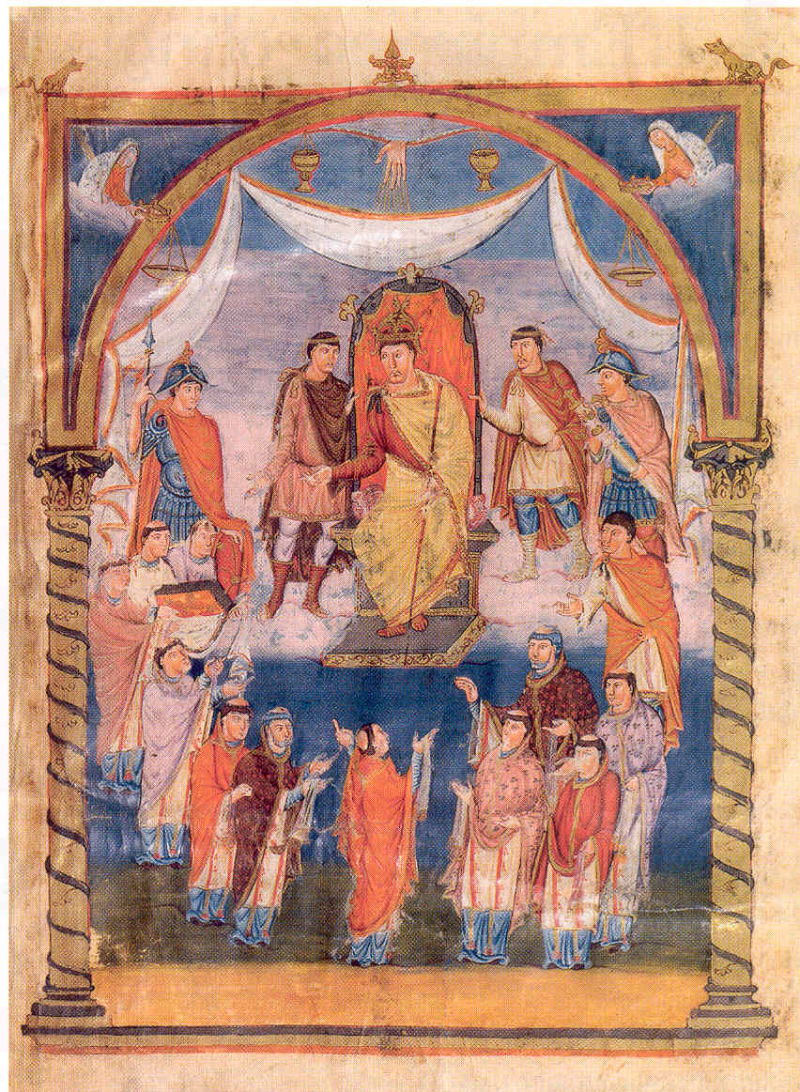 Enluminure Charlemagne