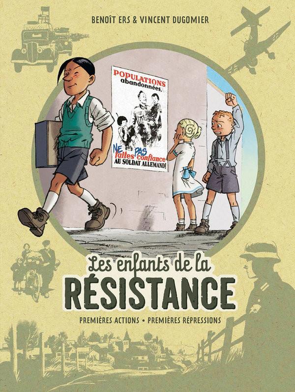 BD les enfants de la résistance