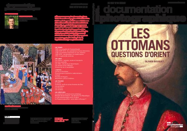 Couverture Les Ottomans questions d'Orient Doc photographie